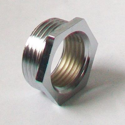 "3/4"" x 1/2"" Chrome Plated Reducing Foundry Bush"